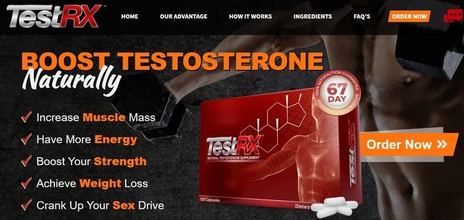 TestRX website